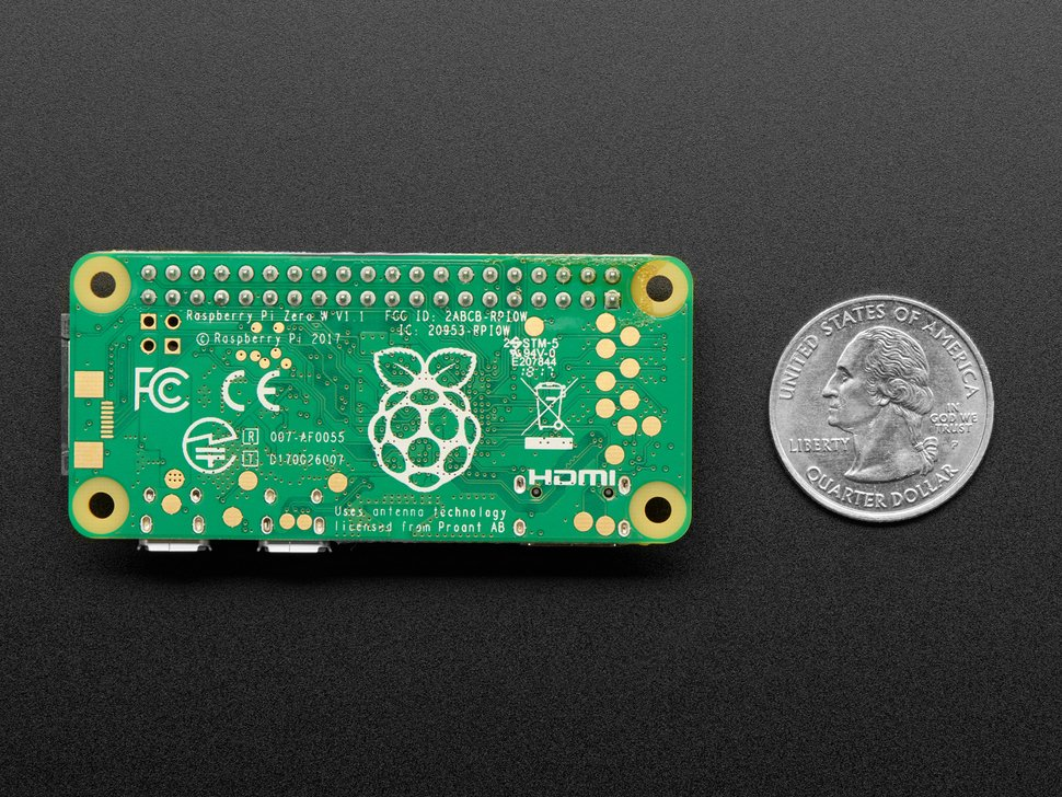 Raspberry Pi Zero WH (Zero W with Headers)