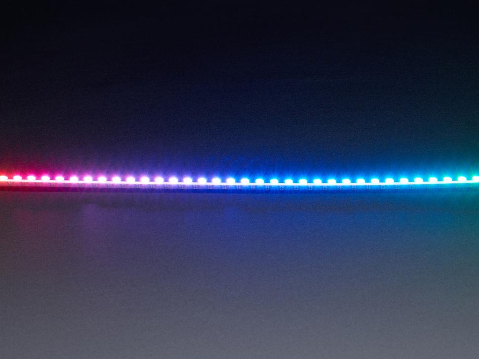 Side Light NeoPixel LED PCB Bar - 60 LEDs - 120 LED/meter - 500mm Long