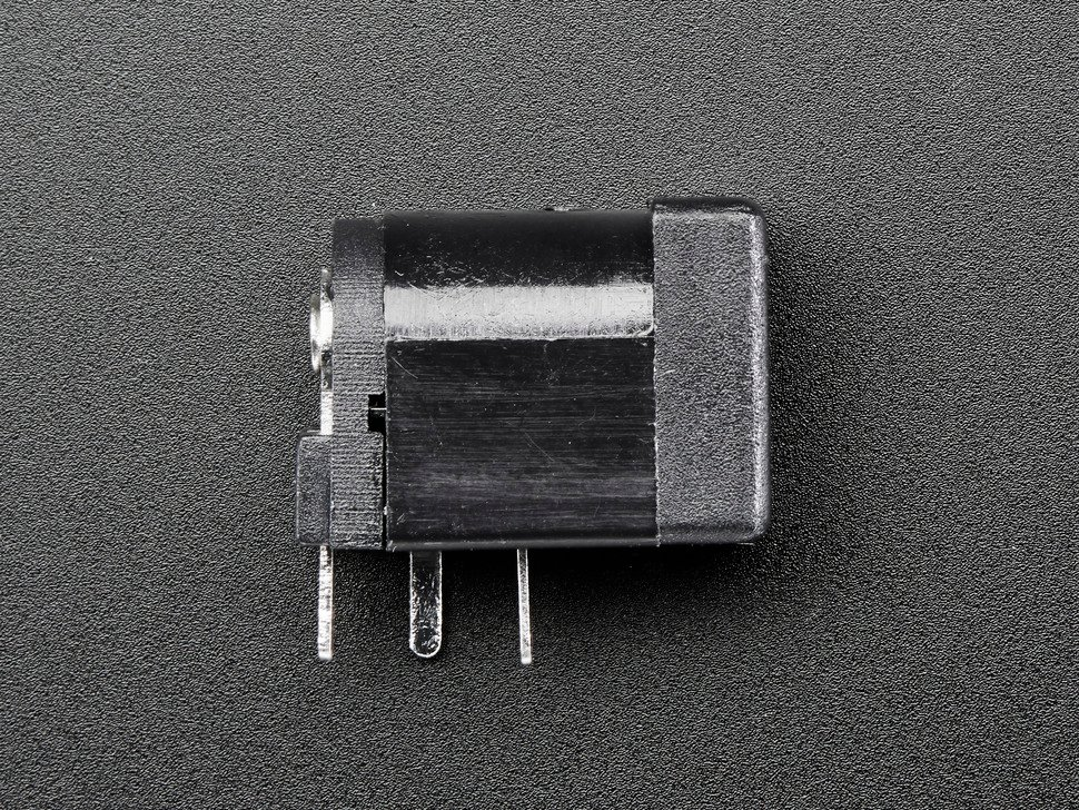 Breadboard-friendly 2.1mm DC barrel jack
