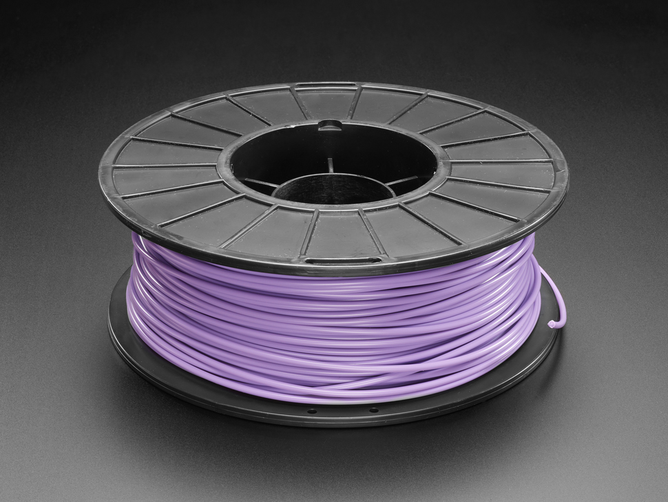 Spool of PLA filament for 3D printers - lilac color with 2.85mm Diameter.