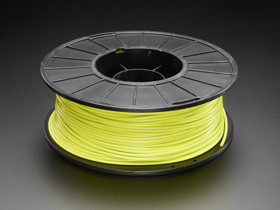 PLA Filament for 3D Printers - 2.85mm Dia - Light Green - 1 Kg - MeltInk