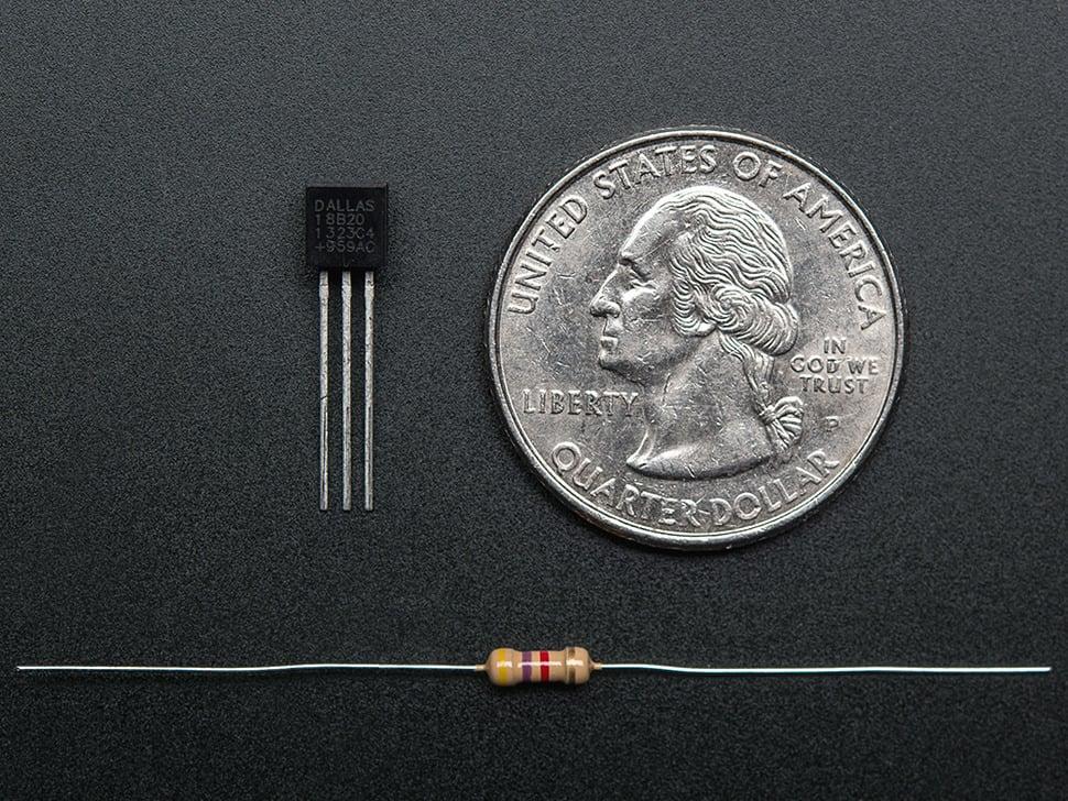 DS18B20 Digital temperature sensor + extras