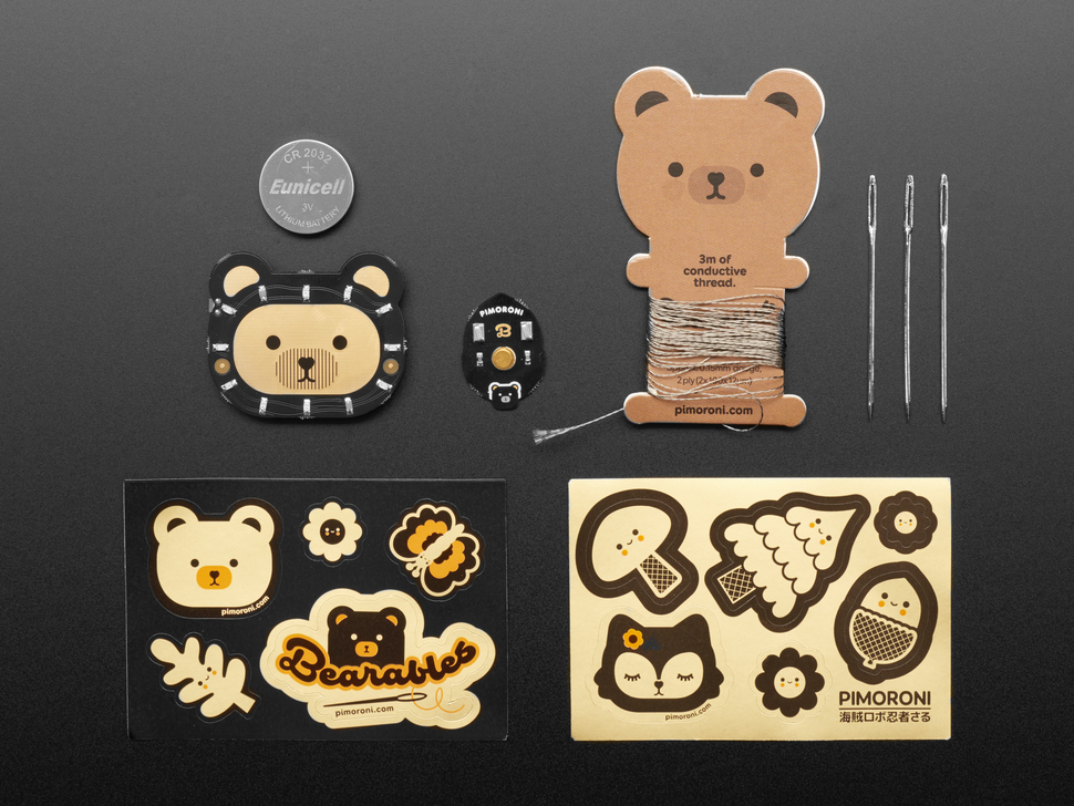Pimoroni Bearables Bear Kit