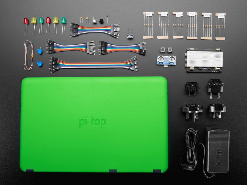 pi-top Laptop with Inventor's Kit v2