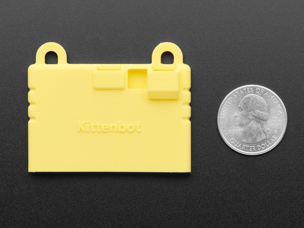 KittenBot Silicone Sleeve for micro:bit - Yellow