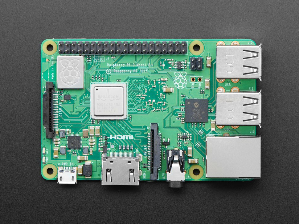 Raspberry Pi 3 - Model B+ - 1.4GHz Cortex-A53 with 1GB RAM