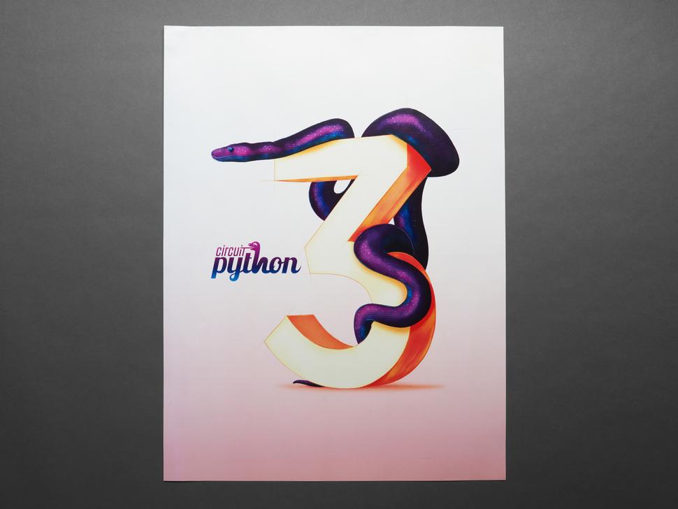 CircuitPython 3 Poster