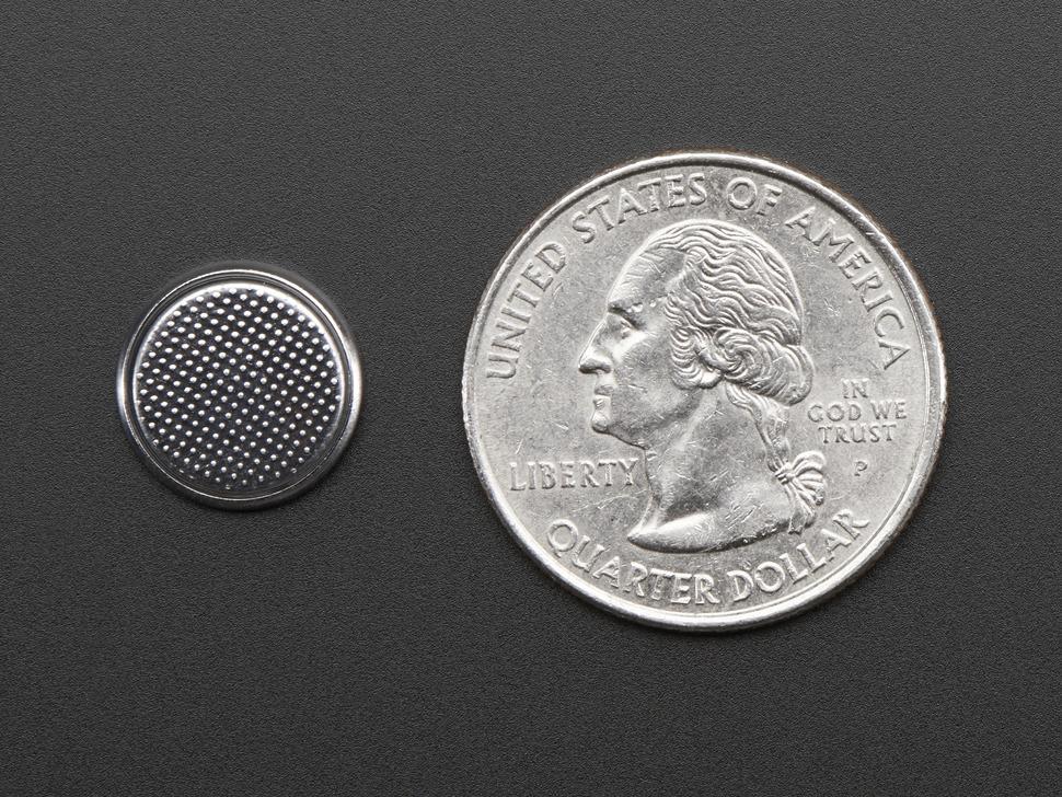 CR1220 12mm Diameter - 3V Lithium Coin Cell Battery - CR1220