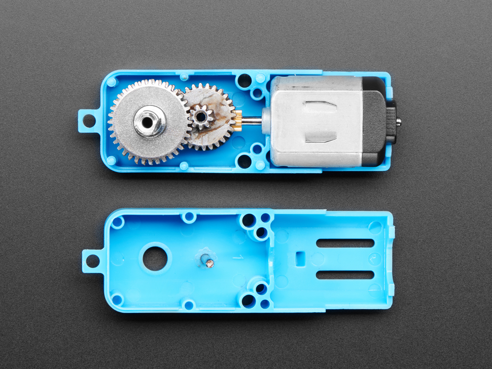 TT Motor All-Metal Gearbox - 1:90 Gear Ratio