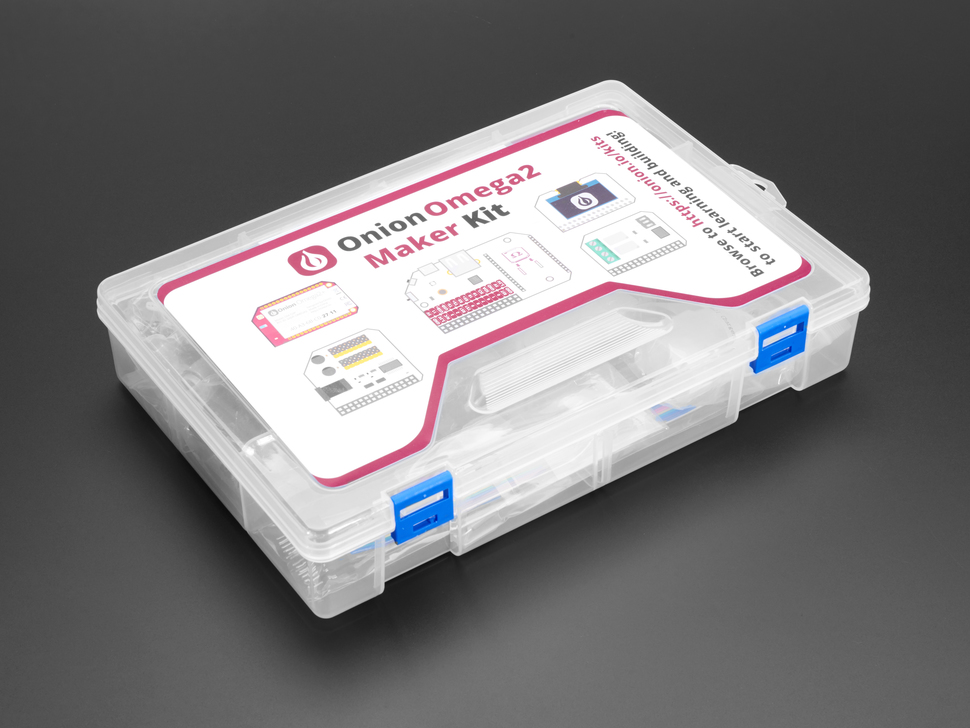 Onion Omega2+ Maker Kit packaging box