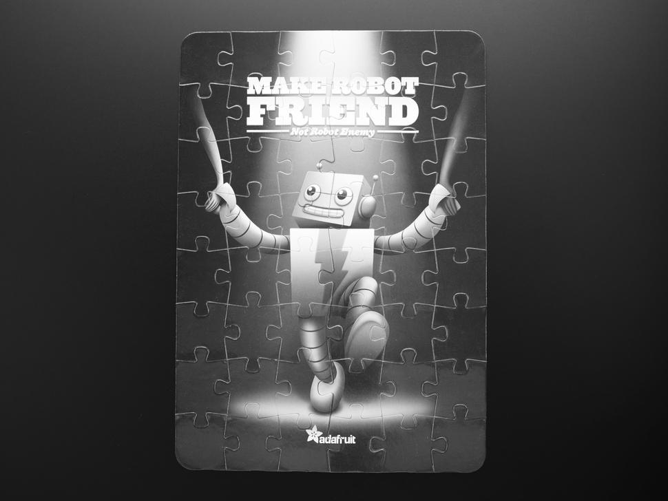 """Make Robot Friend"" Jigsaw Puzzle"