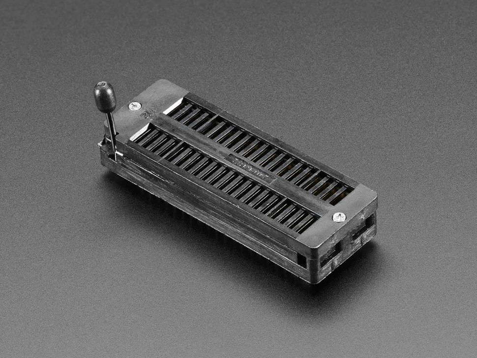 Wide 40-pin ZIF socket