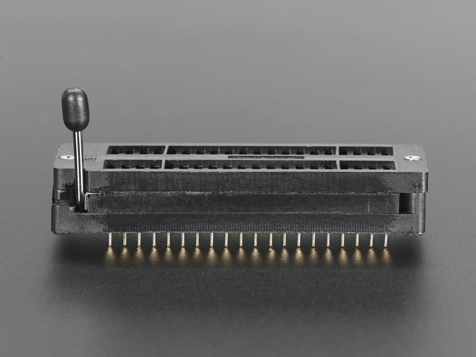 40-pin ZIF socket