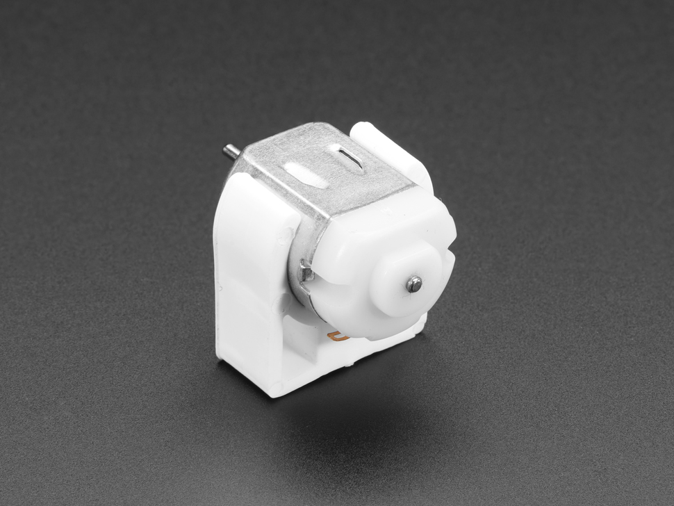 DC Motor Plastic Mount - 130 Size / 20mm Diameter