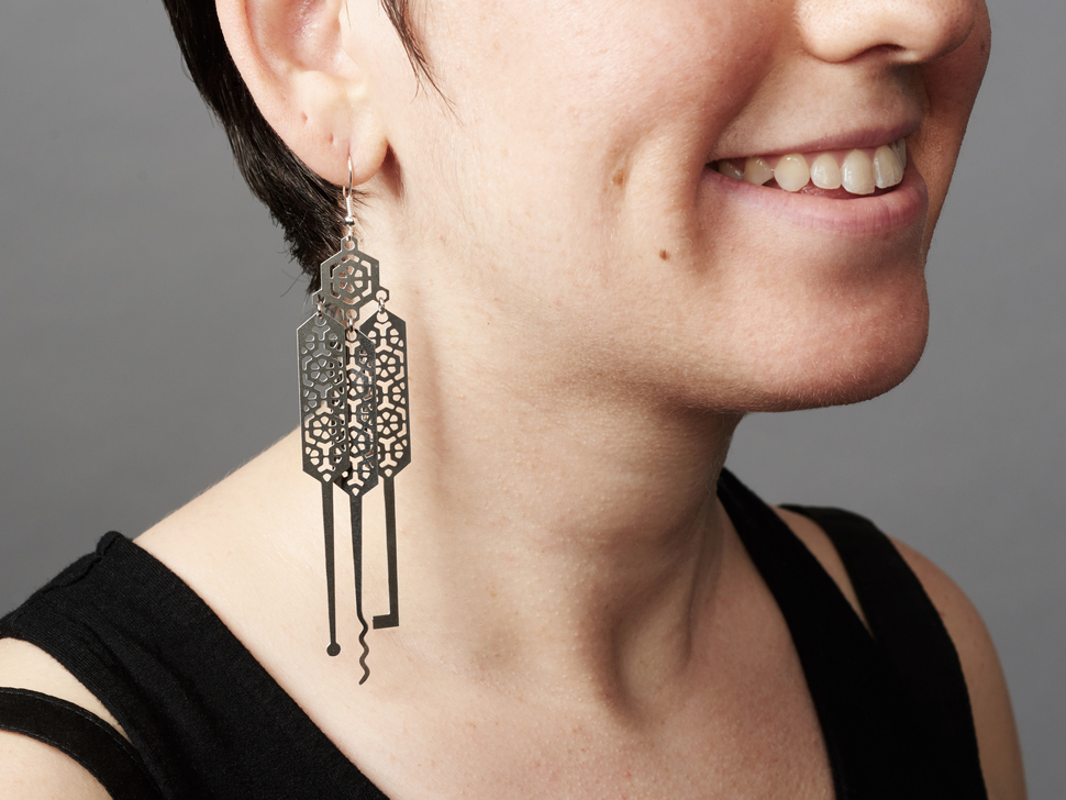 Lock-sport Earrings