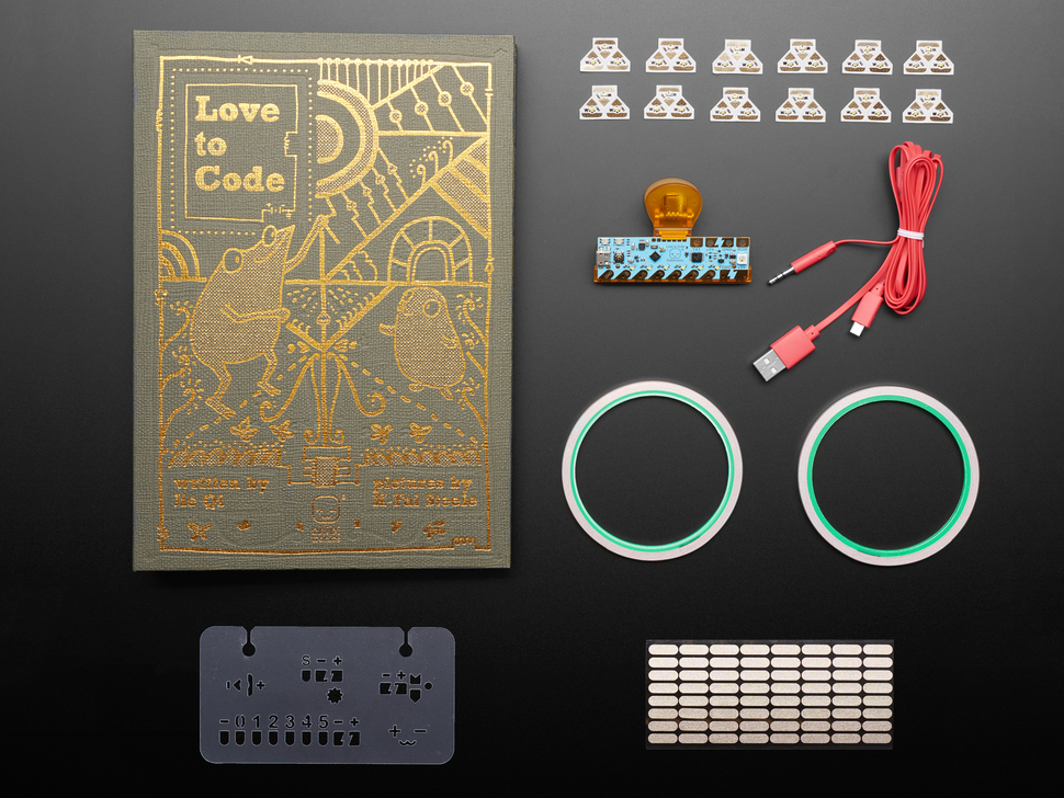 Love to Code Creative Coding Kit - Chibi Starting Kit