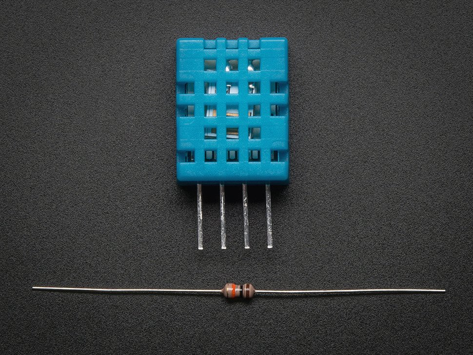 DHT11 basic temperature-humidity sensor + extras