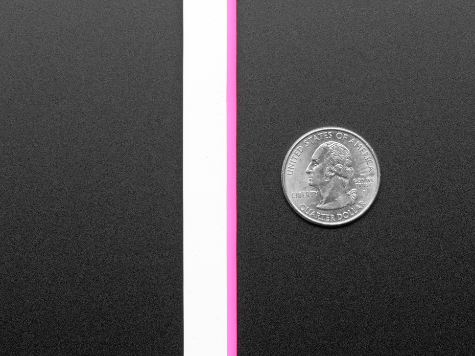 Flexible Silicone Neon-Like LED Strip - 1 Meter - Pink
