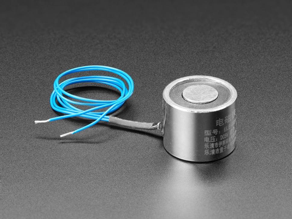 5V Electromagnet - 5 Kg Holding Force - P25/20