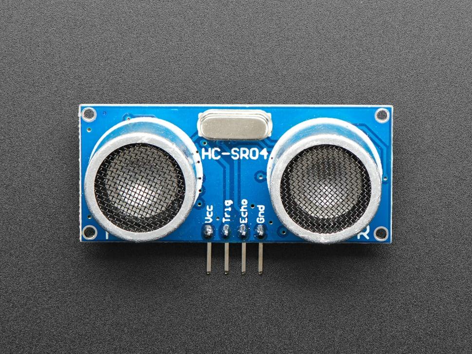 HC-SR04 Ultrasonic Sonar Distance Sensor + 2 x 10K resistors