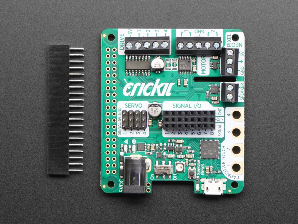 Adafruit CRICKIT HAT for Raspberry Pi
