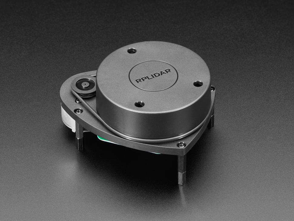 Close shot of lamtec RPLIDAR A1 - 360 Laser Range Scanner