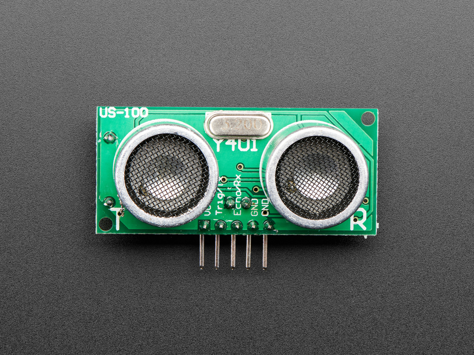 US-100 Ultrasonic Distance Sensor - 3V or 5V Logic