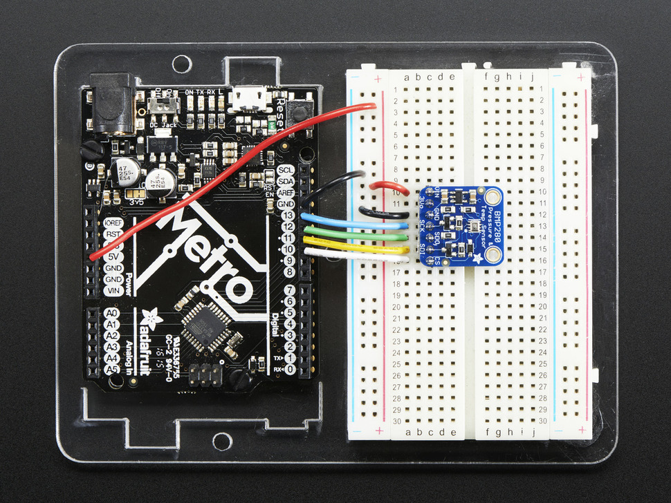 Adafruit BMP280 I2C or SPI Barometric Pressure & Altitude Sensor - Assembled