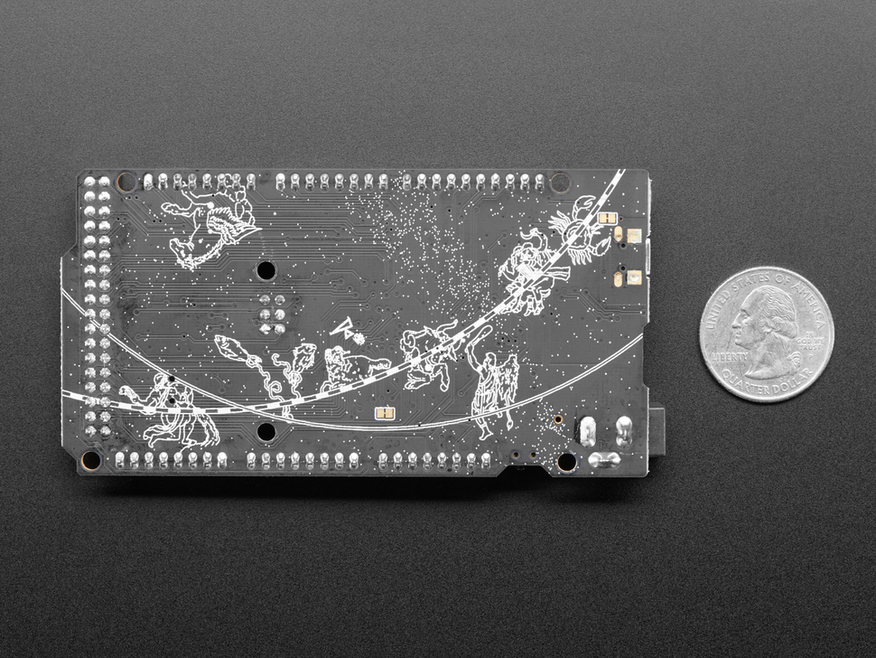 Adafruit Grand Central M4 Express featuring the SAMD51