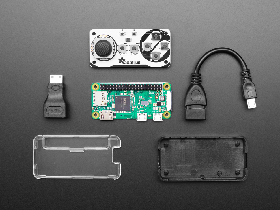 Joy Bonnet Pack without Soldering - Includes Pi Zero WH