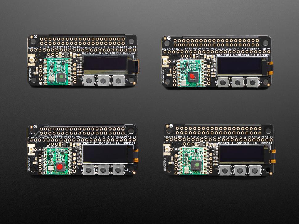 Adafruit Feather 32u4 RFM96 LoRa Packet Radio Transceiver 433 MHz IoT Arduino