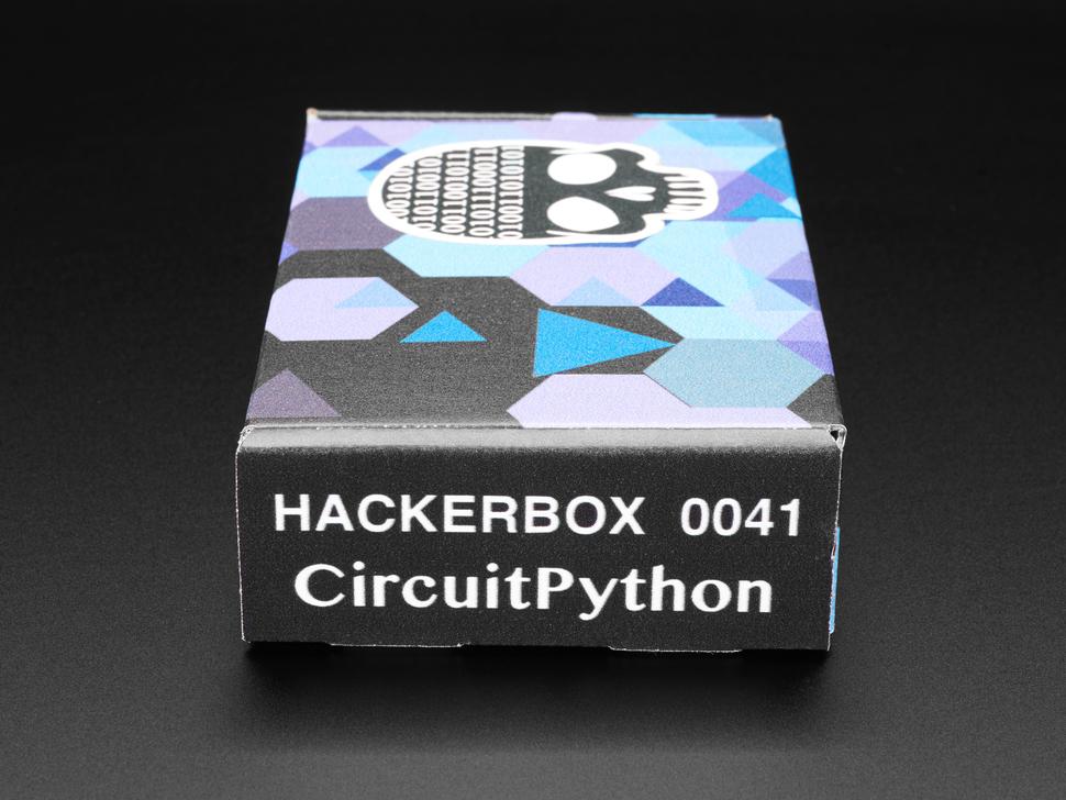 HackerBox #0041 - ItsyBitsy M4 + CircuitPython + MakeCode Arcade