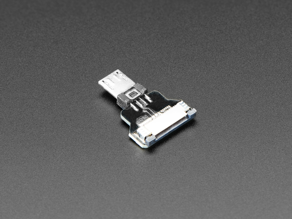 DIY USB Cable Parts - Straight Micro B Plug