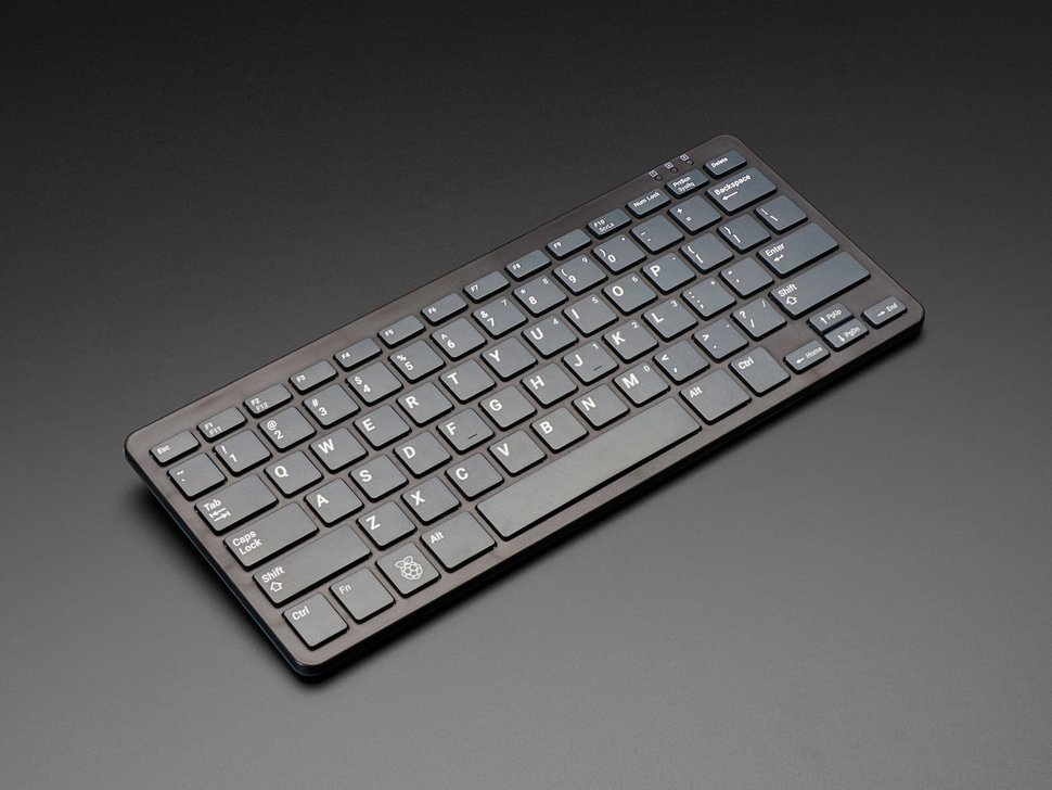 Official Raspberry Pi Keyboard - Black and Gray