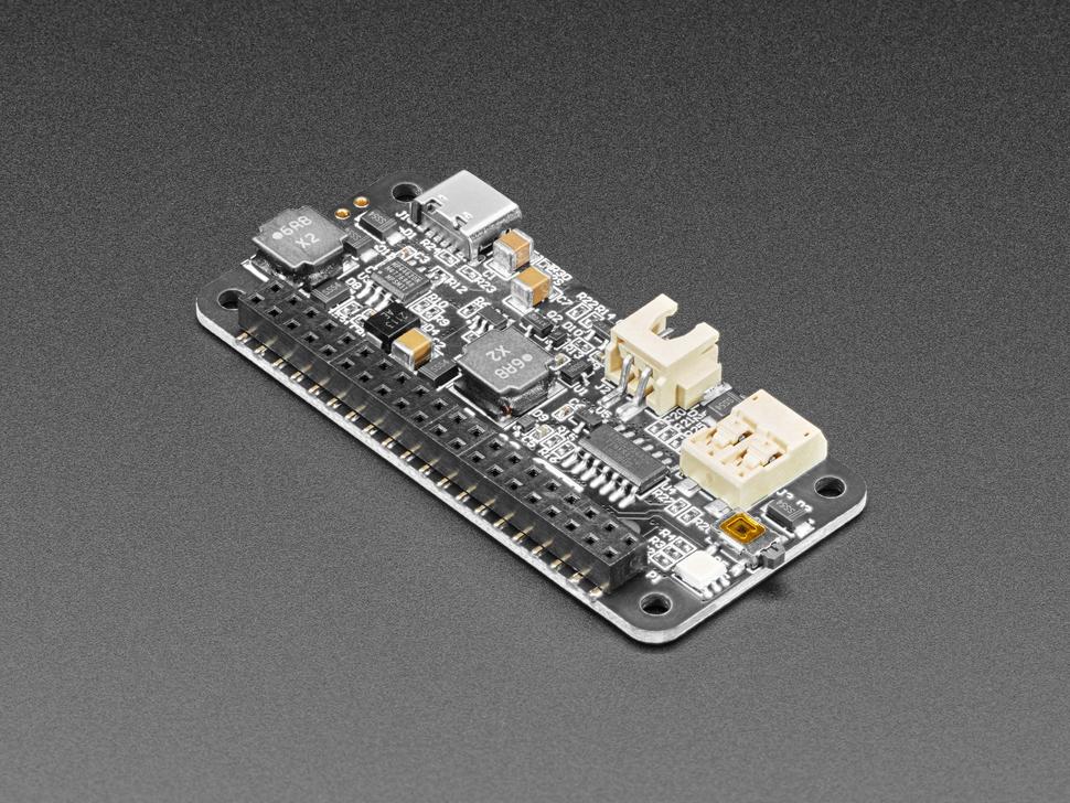 Side shot of the Zero2Go Omini – Multi-Channel Power Supply for Raspberry Pi