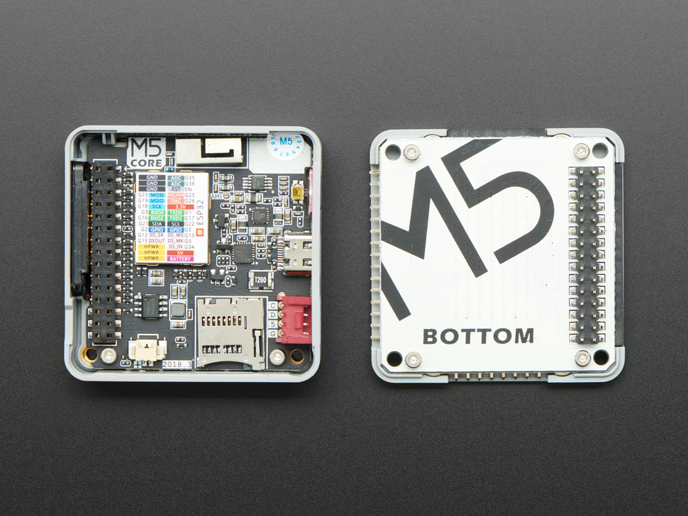 M5Stack Gray Development Kit - ESP32 Dev Board w/ MPU9250