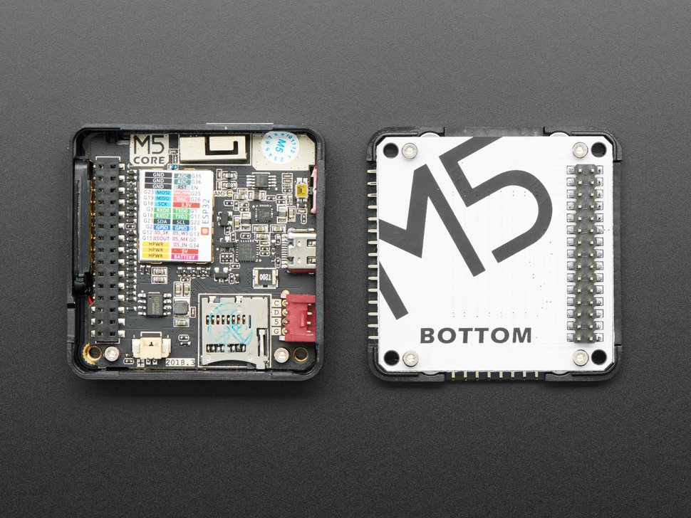M5Stack Basic Core IoT Development Kit - ESP32 Dev Board