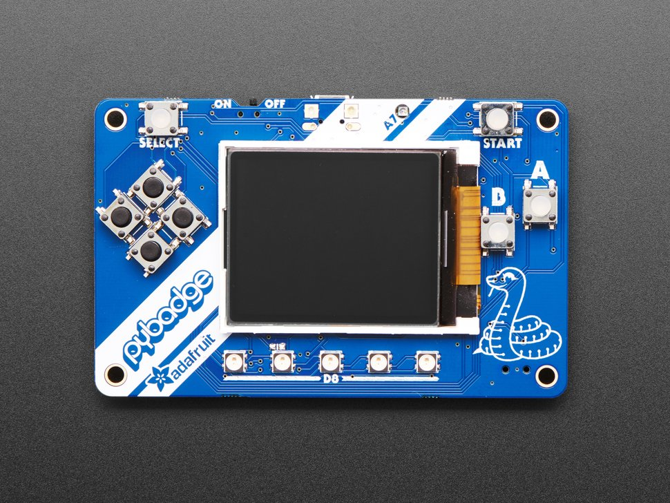 Adafruit PyBadge for MakeCode Arcade, CircuitPython or Arduino
