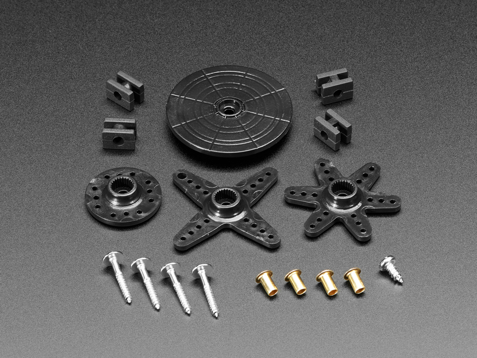 Standard Servo Arm and Horn Set - 25 Spline