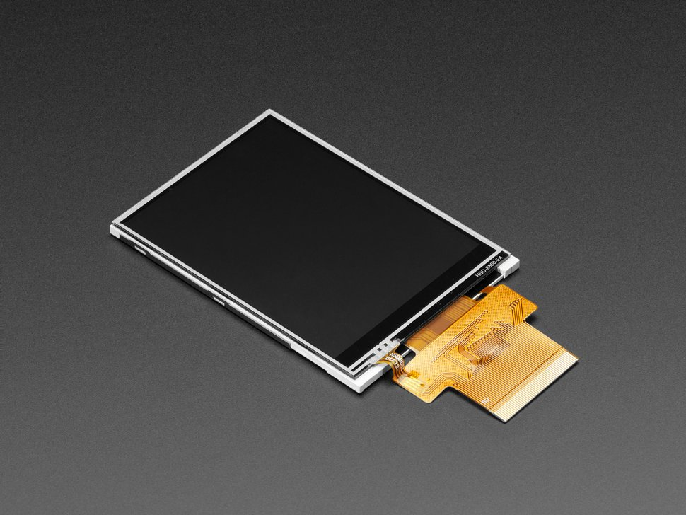 "3.2"" TFT Display with Resistive Touchscreen"