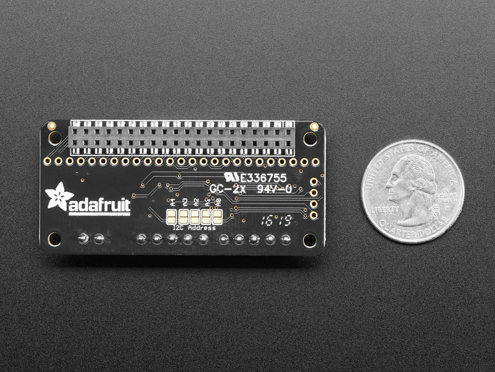 Adafruit DC & Stepper Motor Bonnet for Raspberry Pi