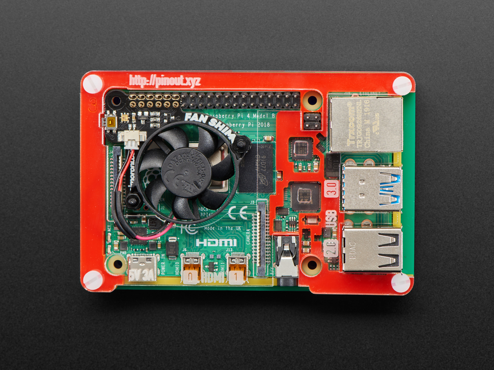 Pimoroni Fan SHIM for Raspberry Pi