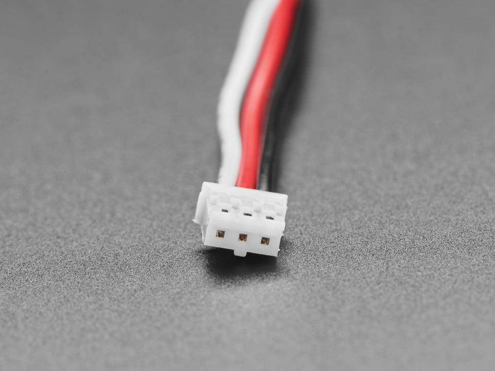 JST PH 3-pin Plug-Plug Cable - 100mm long