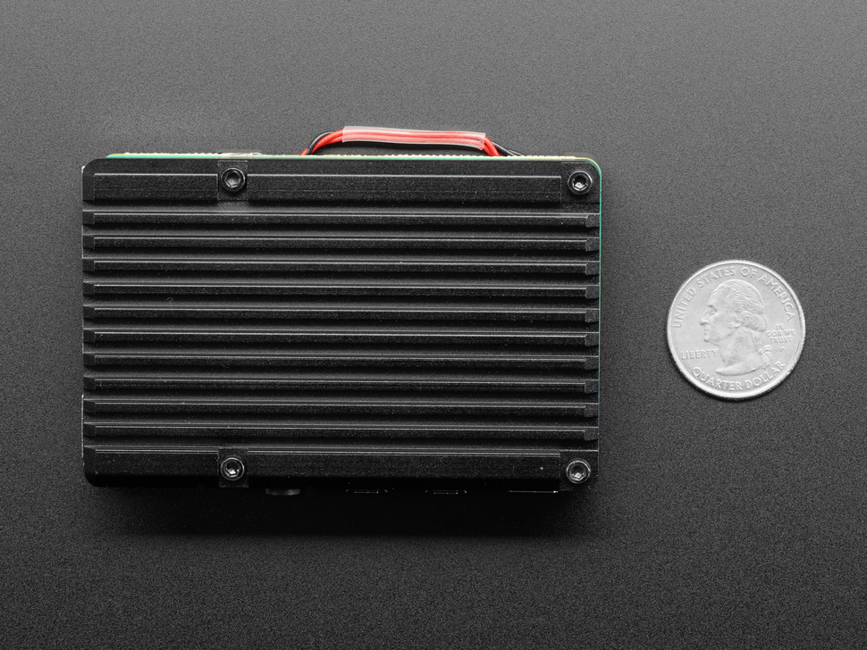 Aluminum Metal Heatsink Raspberry Pi 4 Case with Dual Fans