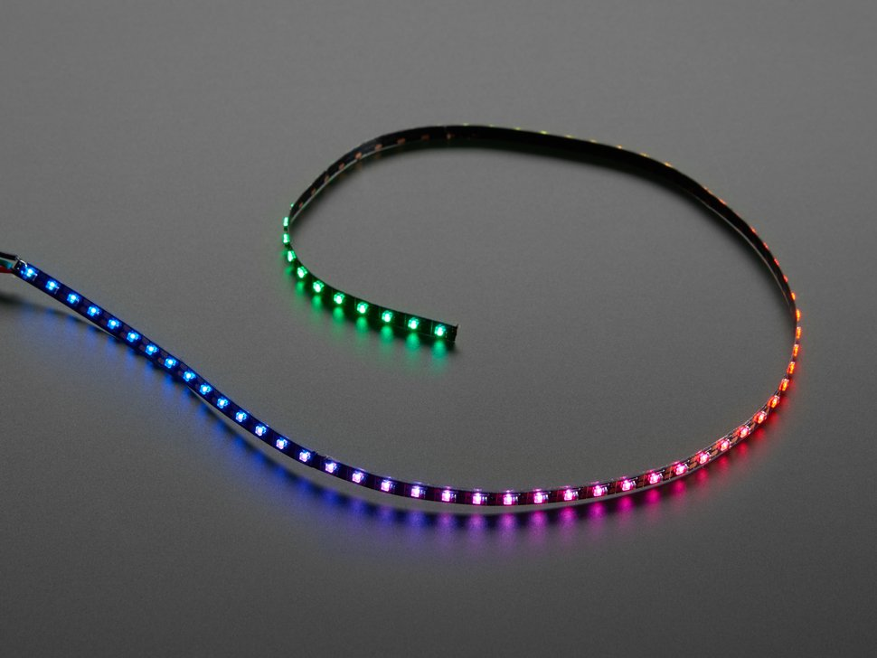 Ultra Skinny NeoPixel 1515 LED Strip 4mm wide - 0.5 meter long - 75 LEDs