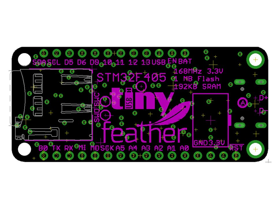 Adafruit Feather STM32F405 Express - Coming Soon!