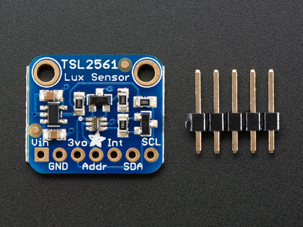 Adafruit TSL2561 Digital Luminosity/Lux/Light Sensor Breakout