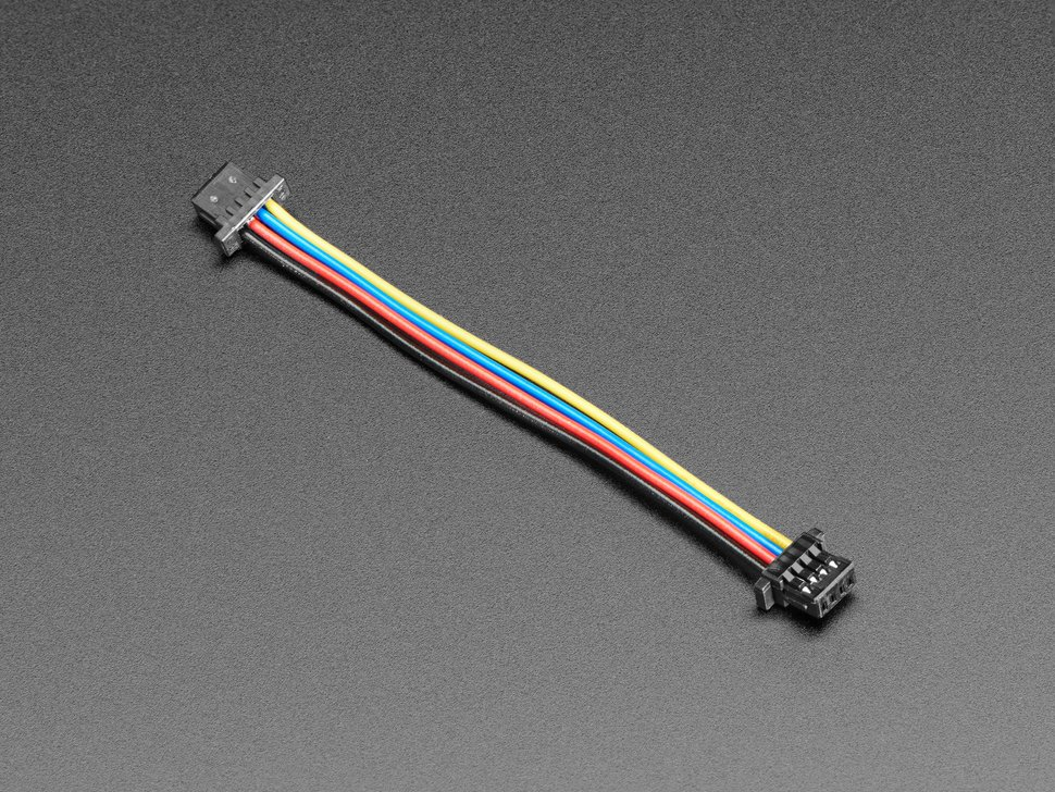 STEMMA QT / Qwiic JST SH 4-Pin Cable - 50mm Long