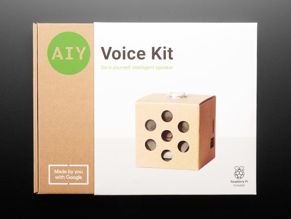Google AIY Voice Kit - Black Girls CODE