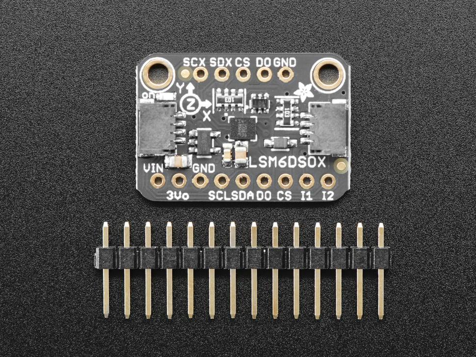 Adafruit LSM6DSOX 6 DoF Accelerometer and Gyroscope - STEMMA QT / Qwiic